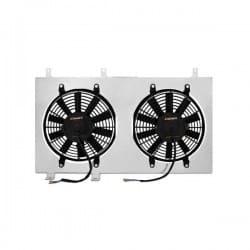 CRX 1988-1991 - Kit ventilador y soporte de aluminio
